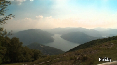 Views from Monte Sighignola - Lake Lugano