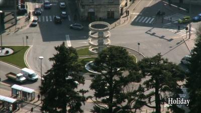 Fountain in Camerlata Square - Como