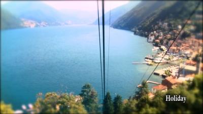 Cableway Argegno / Pigra